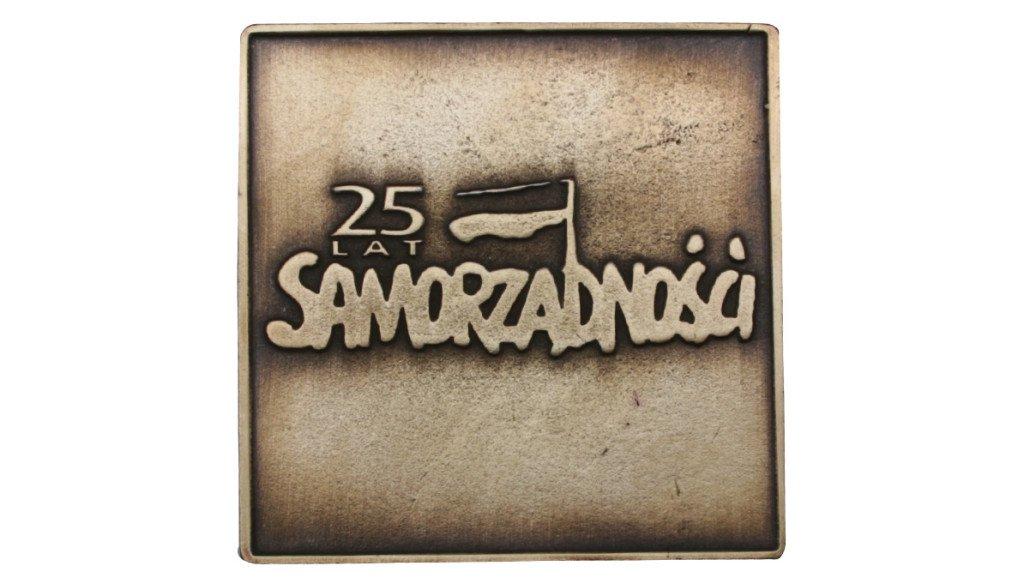 Medal 25 Lat Samorządności