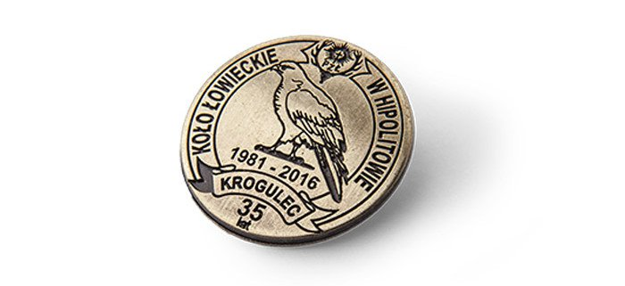 Koło Łowiecki Krogulec - pins