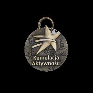 Medal wyprodukowany przez MCC dla Fundacji LOTTO - Kumulacja Aktywności