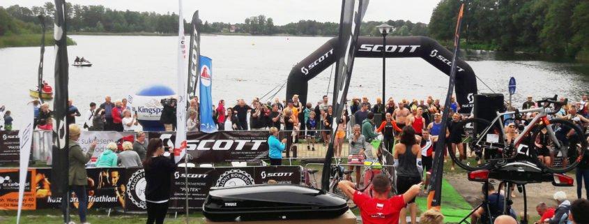 Ośno Triathlon Weekend 2017 - grawerowane medale naszej firmy
