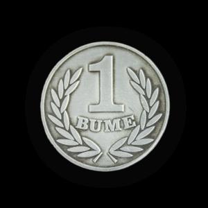 Moneta okolicznościowa BUME