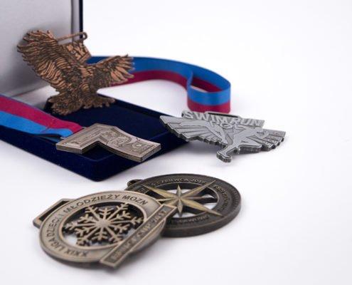 Rodzaje medali sportowych
