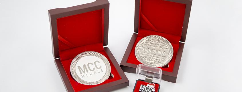 Medale dla klientów