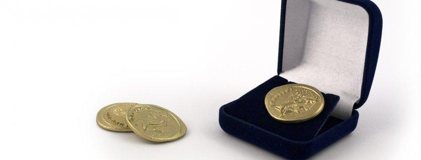 Monety wykonane przez MCC Medale na zamówienie dla firm