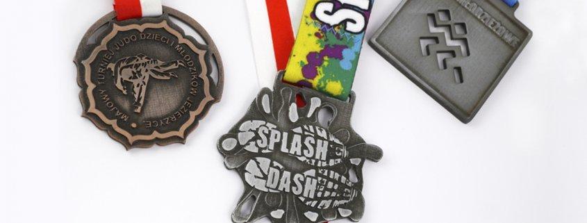 Medale sportowe dla dzieci - nagrody za udział