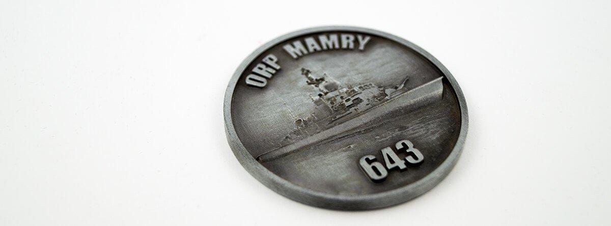 Medal okolicznościowy na zamówienie - gotowy medal