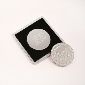 Pamiątkowa moneta posrebrzana