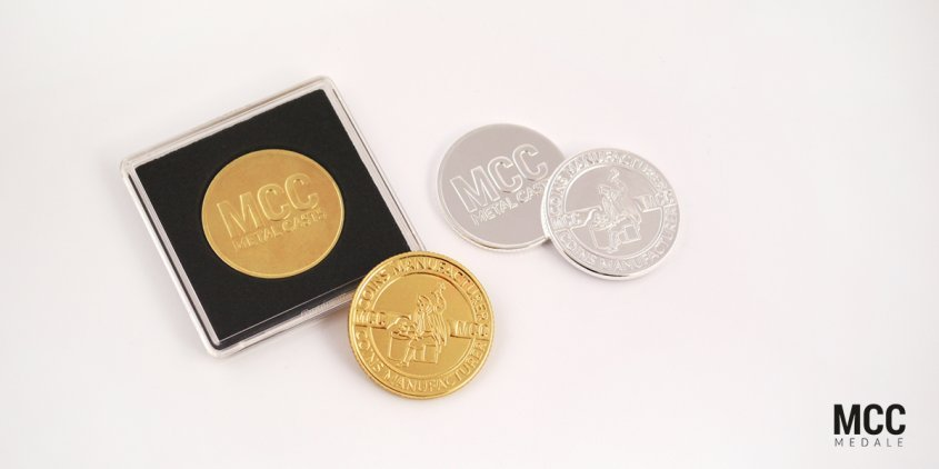 Pamiątkowe monety pozłacane i posrebrzane w ofercie MCC Medale
