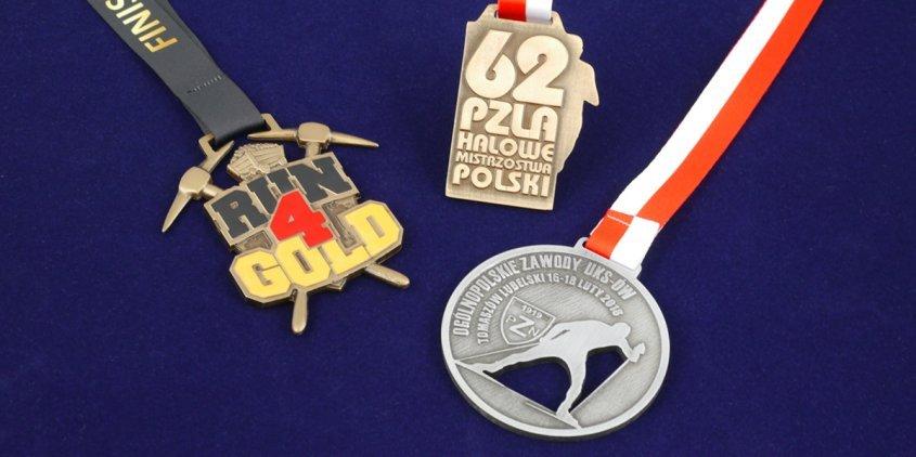 Medale sportowe na zamówienie - przykładowe medale