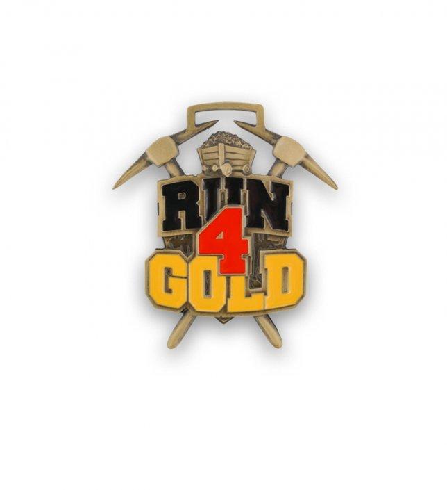 Medal sportowy Run 4 Gold wyprodukowany przez firmę MCC Medale