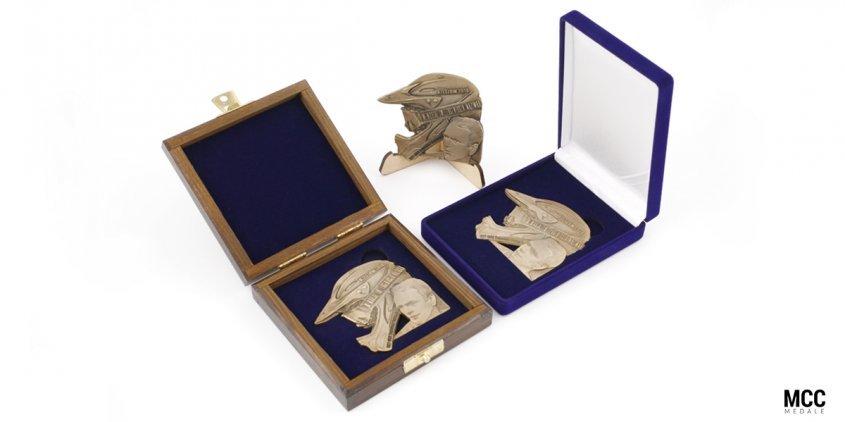 Medal okolicznościowy wyprodukowany przez MCC Medale na XXXI Memoriał im. Eugeniusza Nazimka