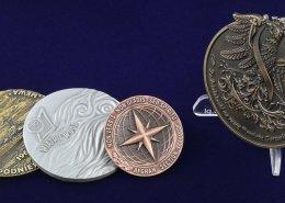 Pamiątkowe medale trójwymiarowe