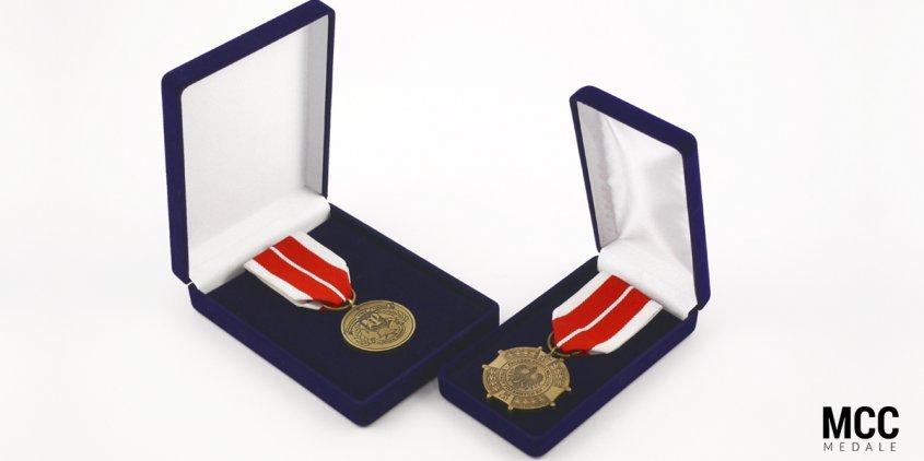 Odznaczenia i odznaki OSP wyprodukowane przez MCC Medale