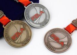 Medale sportowe PZLA na sezon 2018 wykonane przez MCC Medale