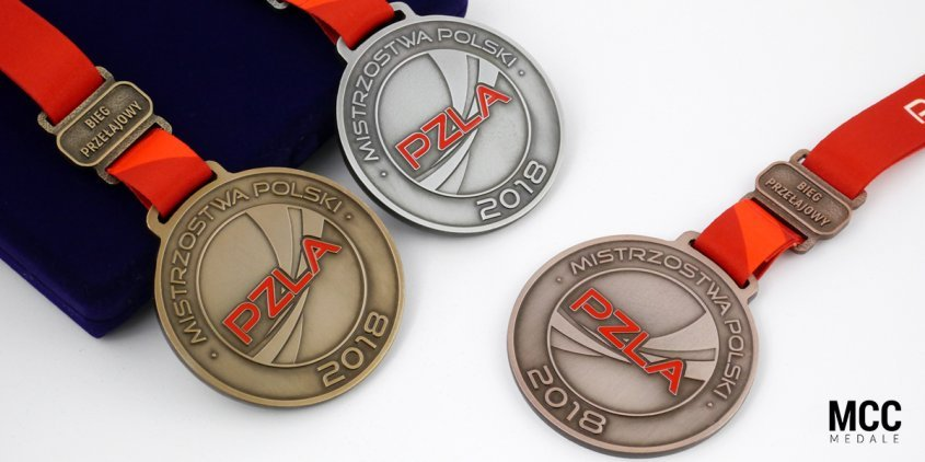 Medale sportowe PZLA na sezon 2018