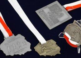 Medale na biegi niepodległości