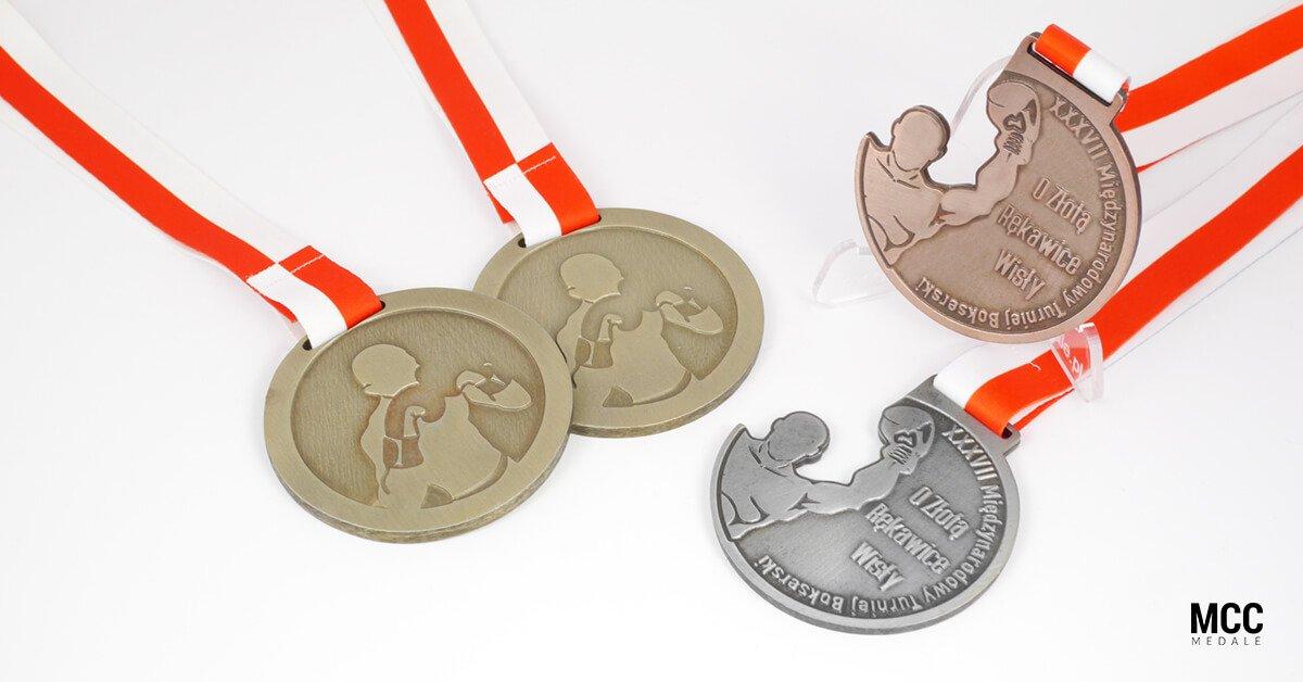 Medale na zawody bokserskie