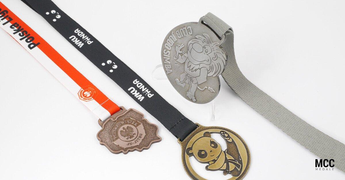 Medale na zawody sztuk walki dla dzieci