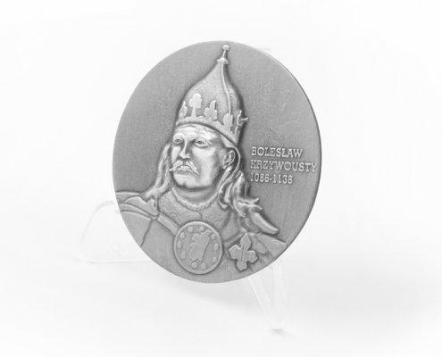 12 Szczecińska Dywizja Zmechanizowana im. Bolesława Krzywoustego - medal 3D