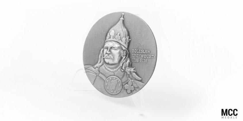 12 Szczecińska Dywizja Zmechanizowana im. Bolesława Krzywoustego - medal 3D wykonany przez MCC Medale