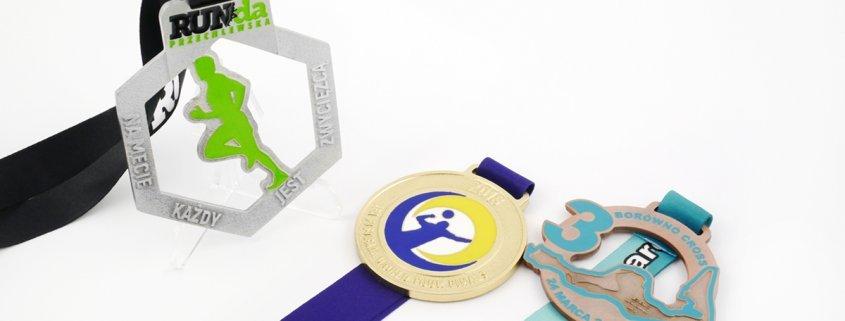 Medale dla sportowców - przykłady medali na zawody.