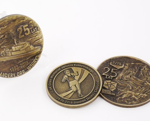 Pamiątkowy medal i medale rocznicowe
