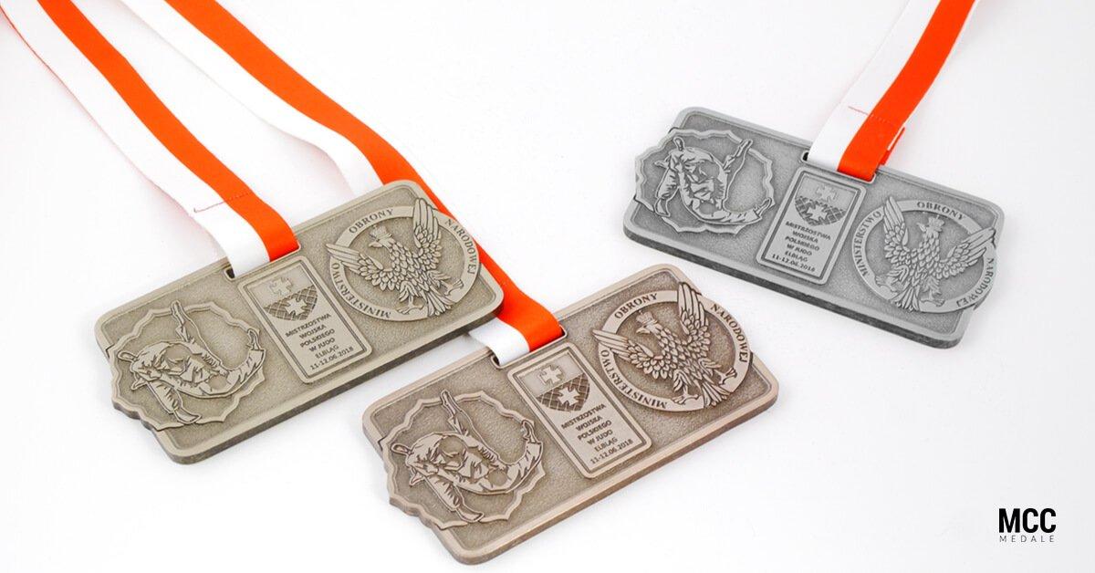 Medale Judo