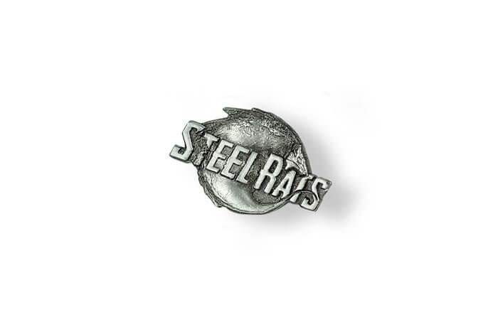 Steel Rats - pins 3D na zamówienie wykonany przez MCC Medale