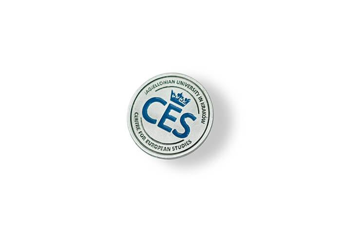 CES - pins emaliowany wykonany przez MCC Medale