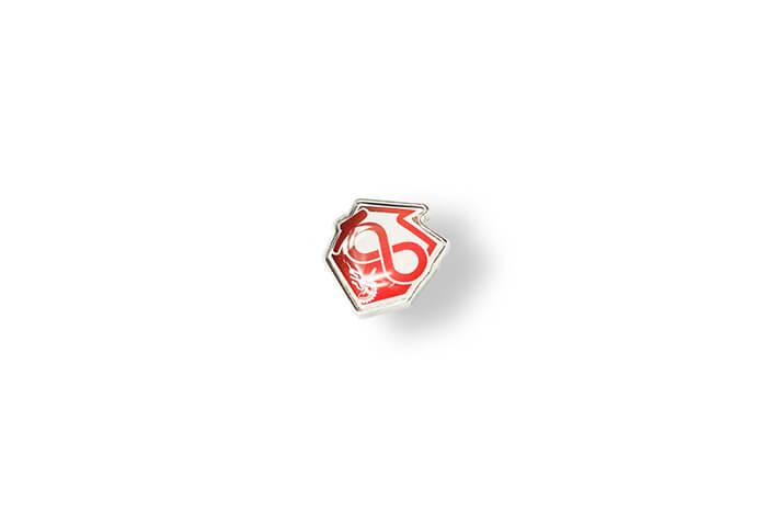 Przypinka z wklejką 3D - Polska wyprodukowana przez MCC Medale