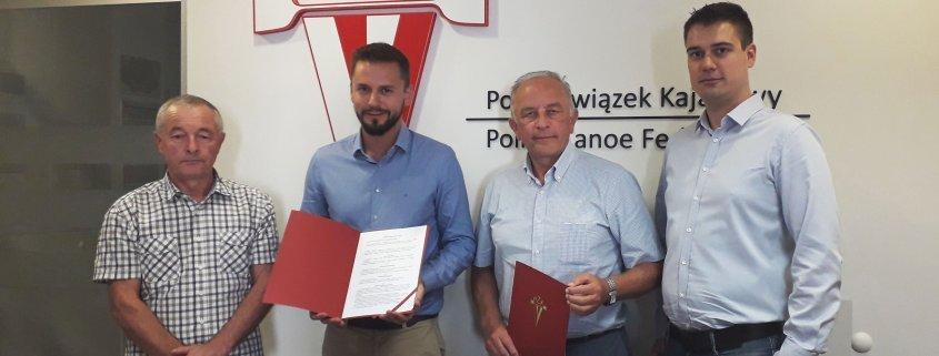 Firma MCC Medale nawiązała współpracę z Polskim Związkiem Kajakowym.
