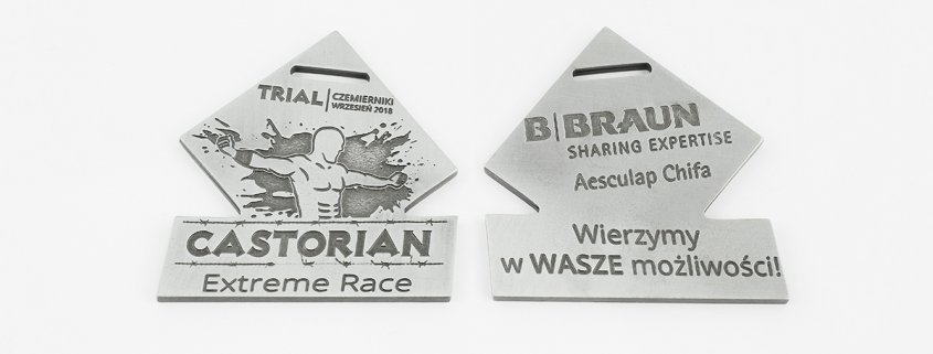 Medal na Castorian Extreme Race