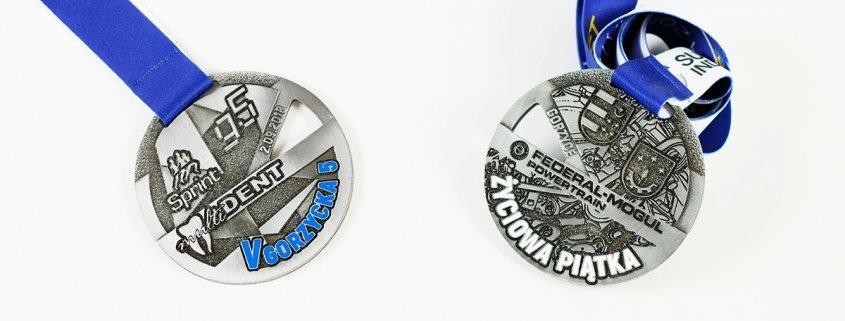 Medal na V Gorzycka 5 przygotowany przez firmę produkującą medale sportowe - MCC Medale