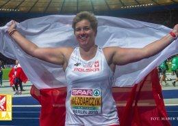 Anita Włodarczyk po zdobyciu mistrzostwa Europy
