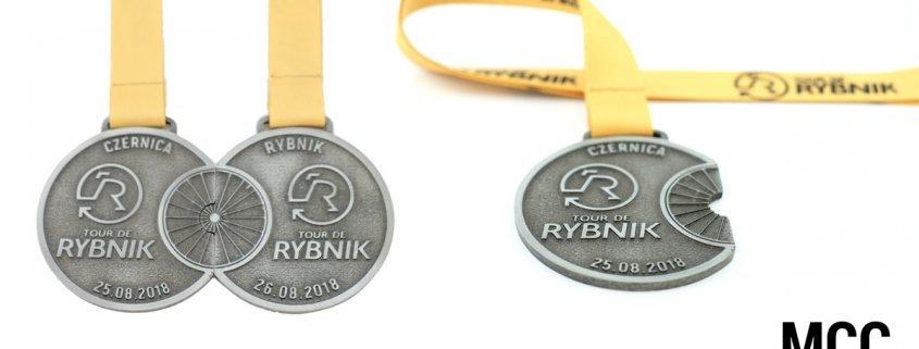 Medal Tour de Rybnik odlany przez producenta medali MCC Medale