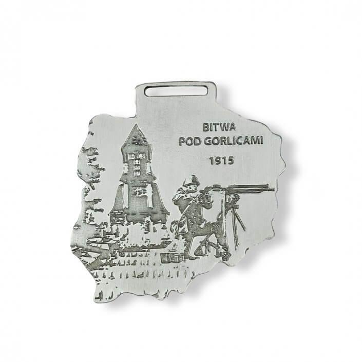 Bitwa pod Gorlicami 1915 - medal z wizerunkiem żołnierza