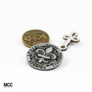 Pinsy harcerskie - przykładowe pinsy harcerskie wyprodukowane przez MCC Medale