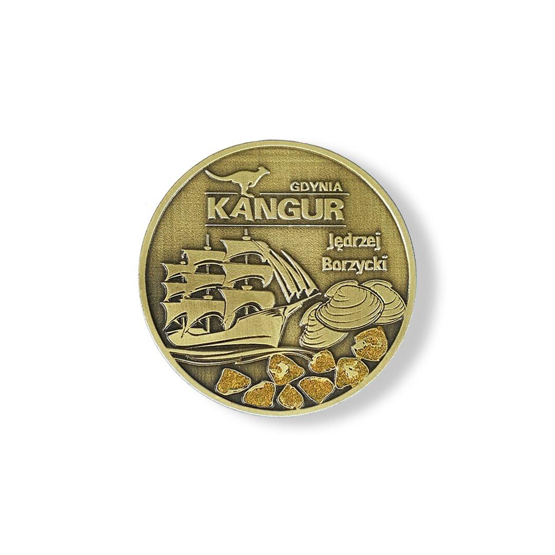 Kangur Gdynia - medal odlewany