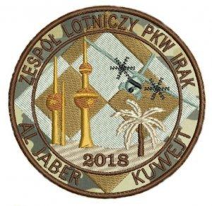 Zespół Lotniczy PKW Irak Al Jaber Kuwejt 2018