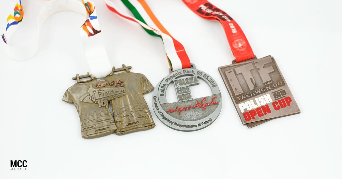 Medale sportowe na nagrody