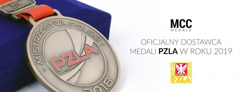 MCC Medale - oficjalny dostawca medali PZLA w sezonie 2019