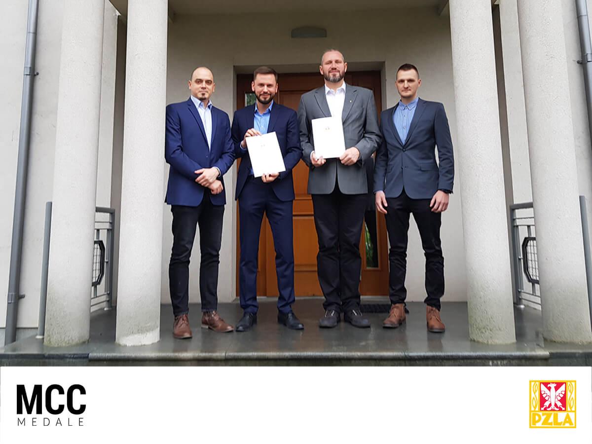 MCC Medale - oficjalny dostawca medali PZLA w sezonie 2018
