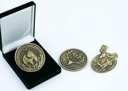 Medale dla kół łowieckich - przykładowe realizacje
