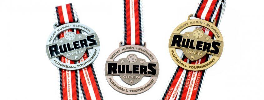 Rulers Open - Floorball Tournament. Medale przygotowane przez MCC Medale