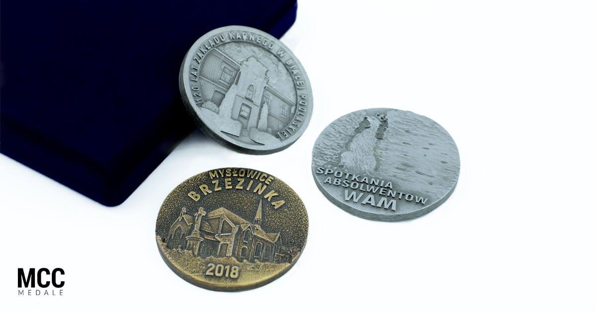 Medale pamiątkowe z MCC Medale - dlaczego warto?