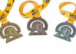 Medale na Międzywojewódzkie Mistrzostwa Taekwon-do ITF przygotowane przez MCC Medale