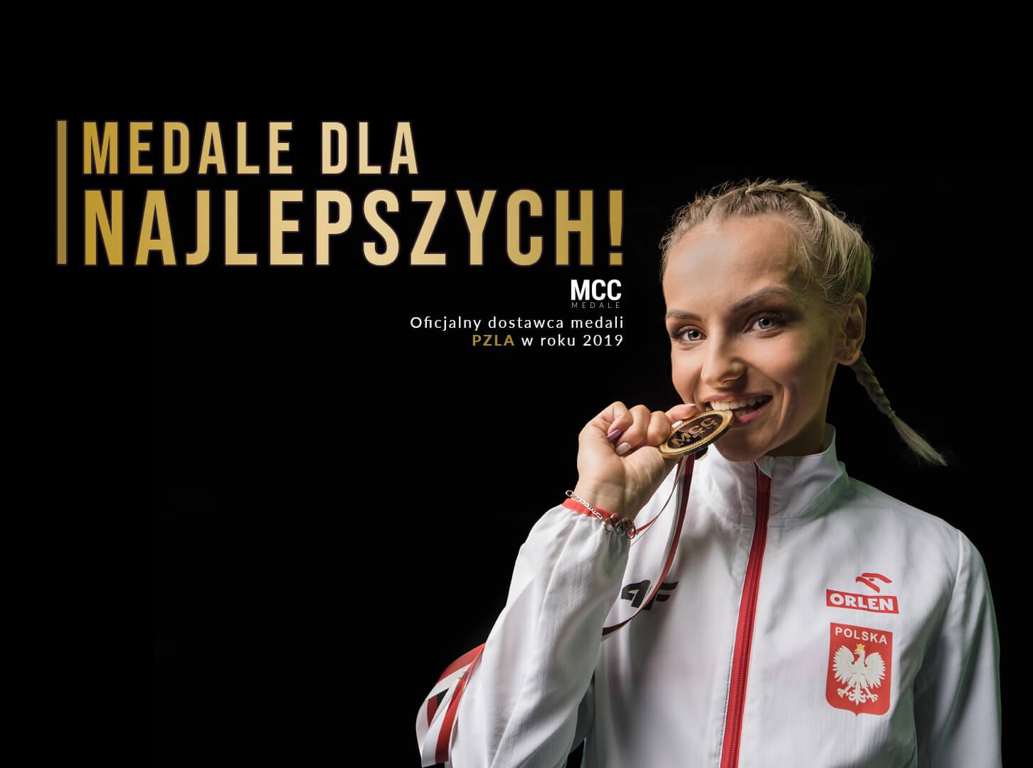 Justyna Święty - Ersetic twarzą akcji Medale dla najlepszych!