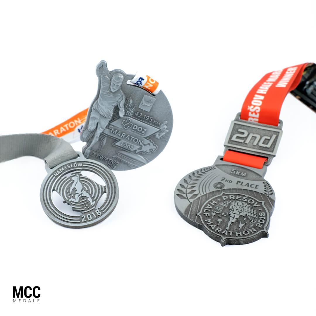 Medale na zawody biegowe