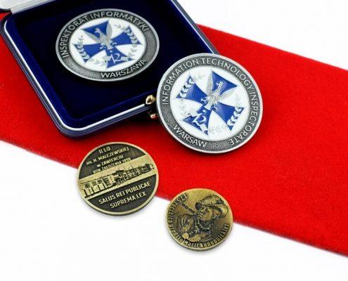 Monety okolicznościowe na zamówienie wykonane przez MCC Medale