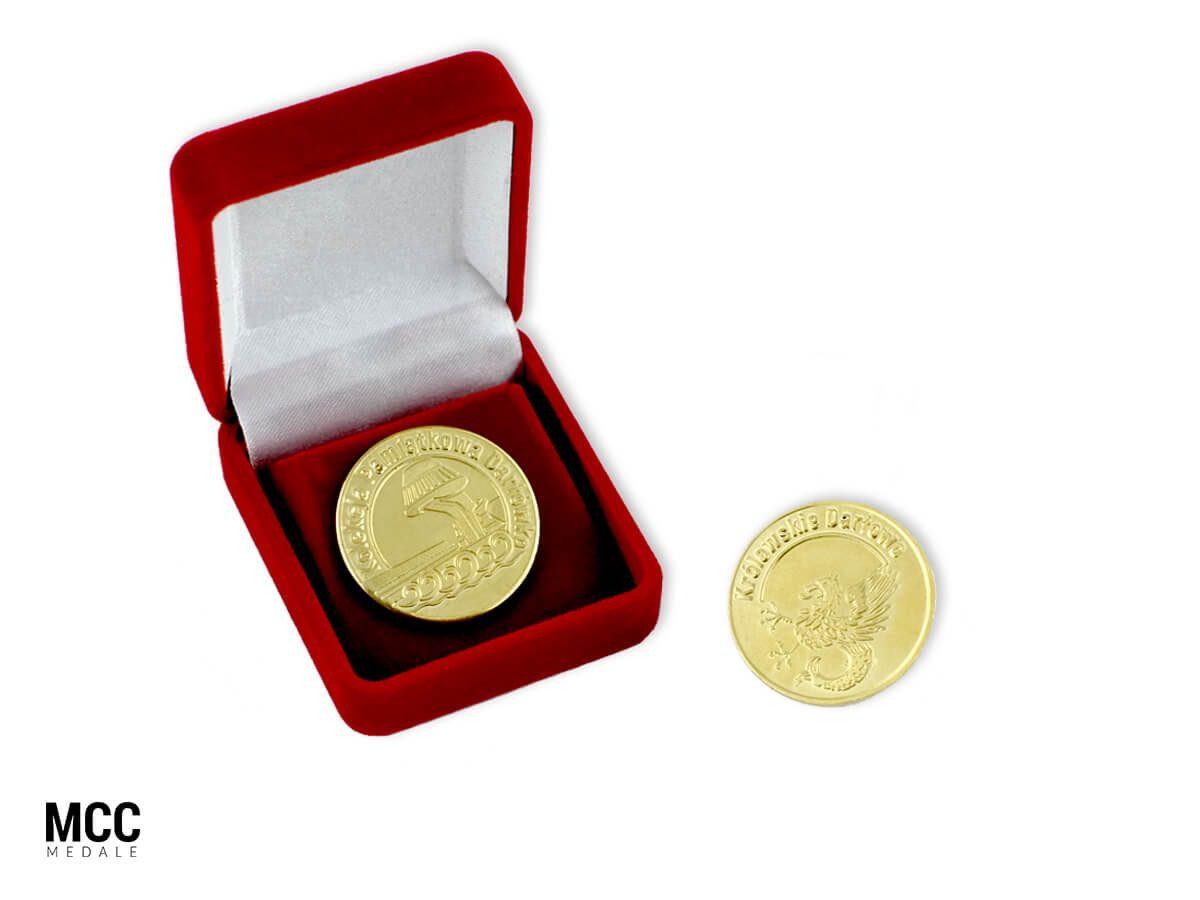 Wybijane na zamówienie monety pamiątkowe